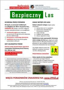 MiniPoradnik ppoż Bezpieczny Las