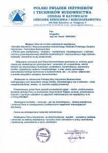 Rekomendacja PZITB Katowice